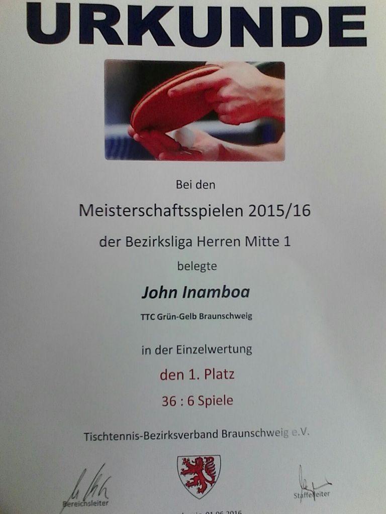 Urkunde John15_16