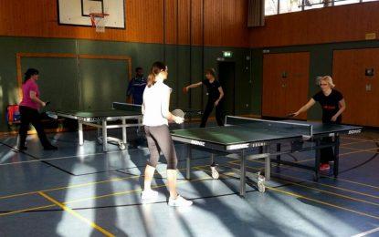 Damen-Tischtennis beim TTC ? Aber ja!