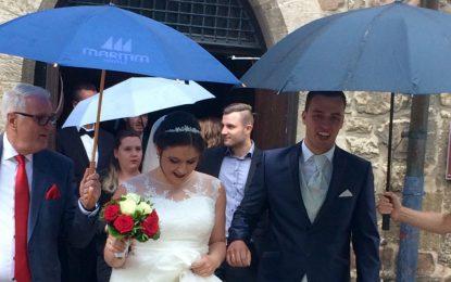 Unser ehemaliger Spieler Marcel Furtner hat geheiratet