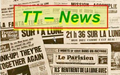 TT-News: Von Lauftagen, einem Geschenkkorb, Frust, einem Neuzugang und von der Baustelle