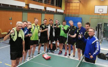 TT-Vereinsderby um Punkte geht an die 2. Mannschaft
