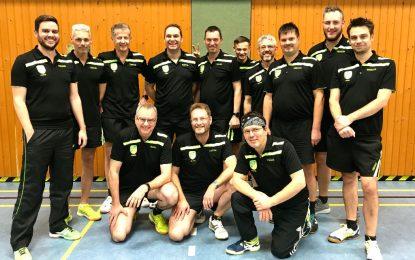 TT-Vereinsduell in der Kreisliga geht an die 2. Mannschaft