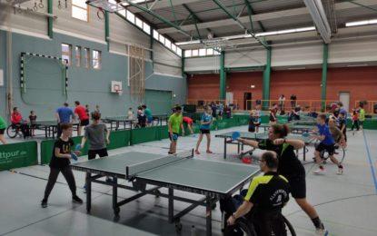 Inklusiver TT-Lehrgang in Göttingen mit der Grün-Gelb-Jugend