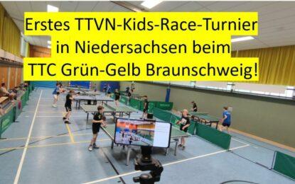 Bezirks-Rangliste Jugend, 1. TTVN-Kids-Race, Sommertraining + ein Wiedersehen!