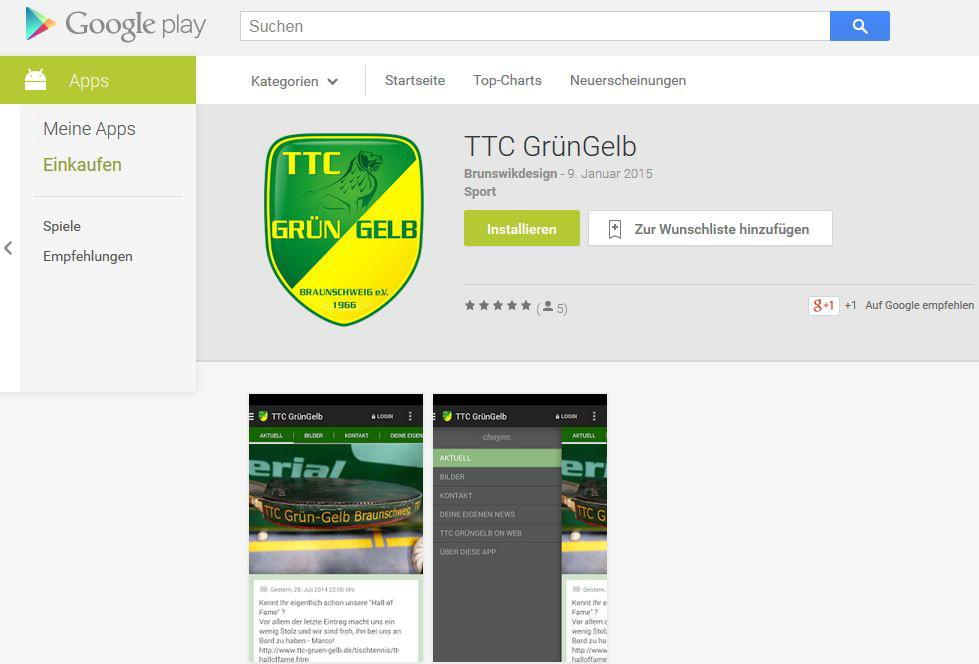 Update App für Android