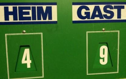 TT: TTC Grün-Gelb BS 3 – TSV Rüningen 2 4:9