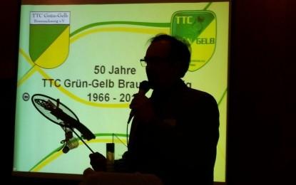 """50 Jahre TTC Grün-Gelb Braunschweig – Festlicher Abend im """"Eichenwald"""""""