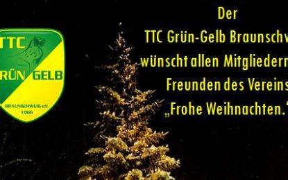 """""""Grün-Gelbe Weihnachten!"""" – auf ein letztes Wort im Jahr 2016"""