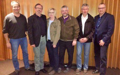 Wiederwahl des TTC-Vorstands bei der Mitgliederversammlung