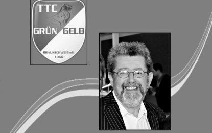 Der TTC Grün-Gelb Braunschweig trauert um Wolfgang Willrich