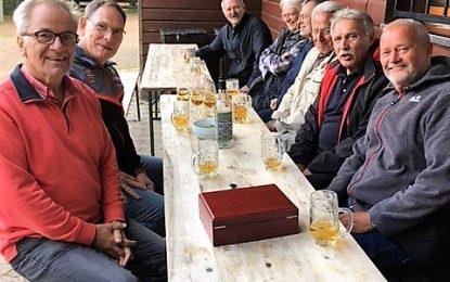 Die Faustballer in Oderbrück