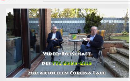 Videobotschaft des TTC-Vorstands zum Osterfest 2021