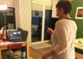 Online-Gymnastik beim TTC aus dem Wohnzimmer